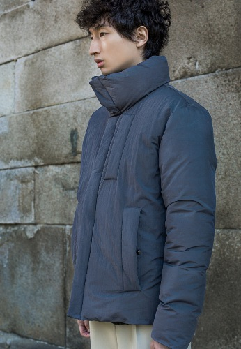 PUFFER DOWN JACKET(GREY)