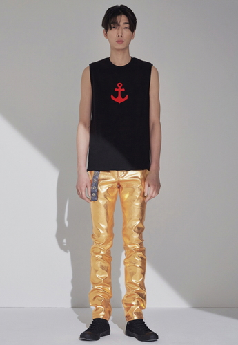 ANCHOR SLEEVELESS(BLACK)