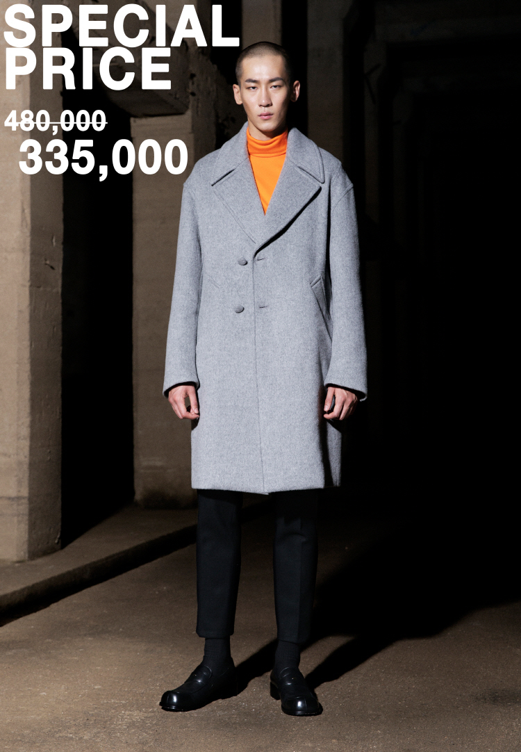 3차 OVERSIZE COAT(LIGHTGRAY)
