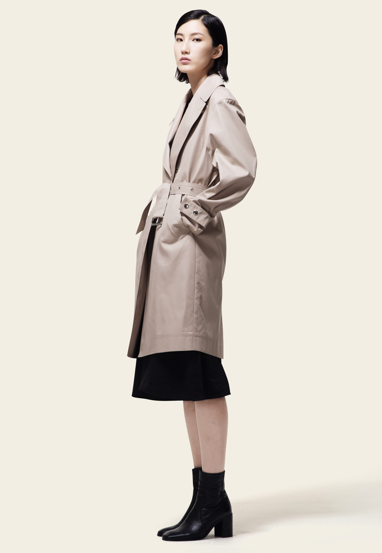TRENCH COAT(BEIGE)