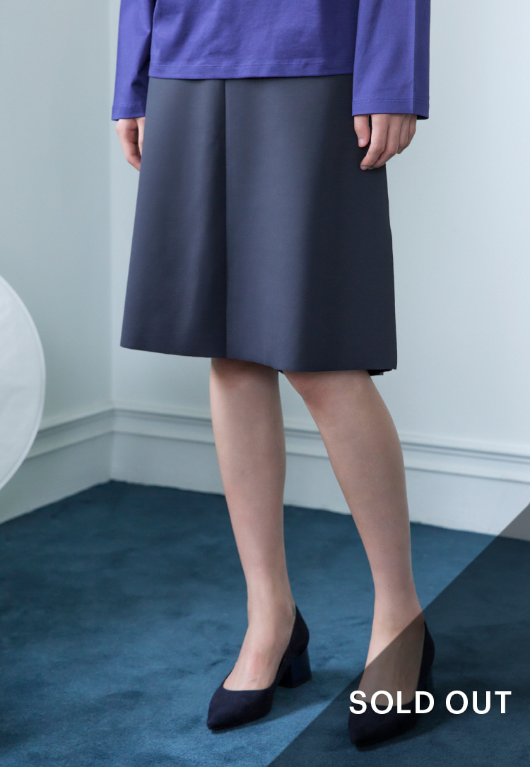 CUTTING SKIRT(GRAY)