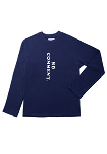 LONG SLEEVED T-SHIRTS(NAVY)